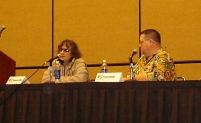 Comics artists Ramona Fradon and Scott Shaw!, WonderCon 2006