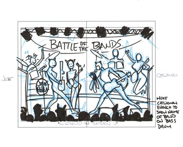 Catfight of the Bands initial thumbnail by Gene Gonzales