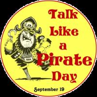 September 19 be International Talk Like a Pirate Day!