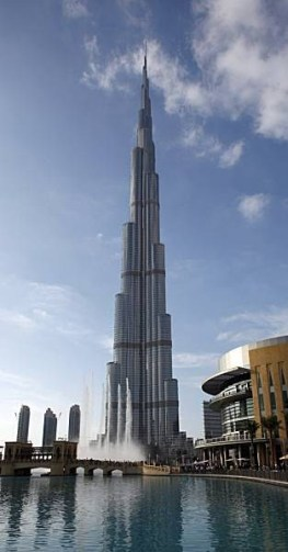 Burj Khalifa, the world's tallest structure