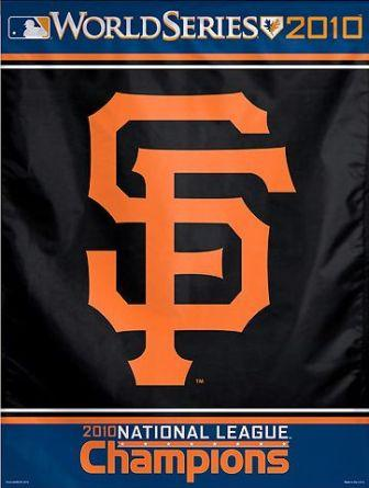 2010 National League Champions: Your San Francisco Giants!