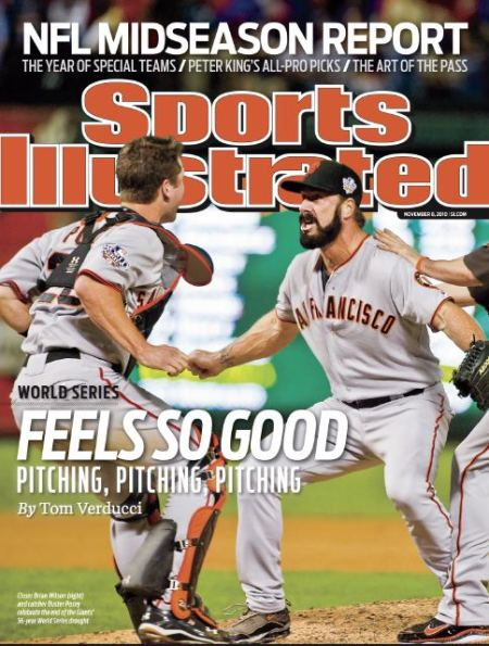 Sports Illustrated: SF Giants Win the World Series
