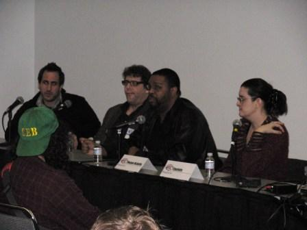 Dwayne McDuffie leads an animation panel, WonderCon 2008