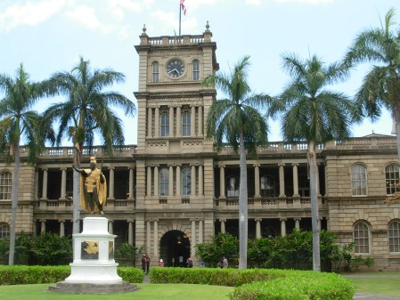 Ali'iolani Hale: Also not the actual home of Hawaii Five-O.