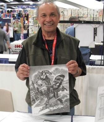 Ernie Chan at WonderCon 2011