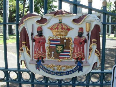 "Iolani Palace: ""The Life of the Land is Perpetuated in Righteousness"""