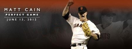 Matt Cain's perfect game: June 13, 2012