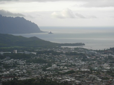 The view from Nu'uanu Pali Lookout