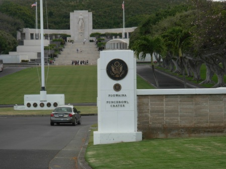 National Cemetery of the Pacific at Punchbowl Crater