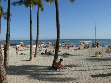 Waikiki Beach... you know you want to be there.