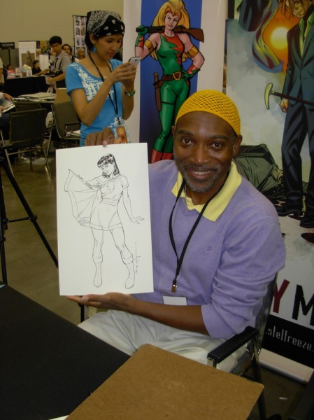 Brian Stelfreeze and Mary Marvel, Big Wow 2013