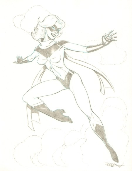 Ms. Marvel, pencils by Michael Dooney