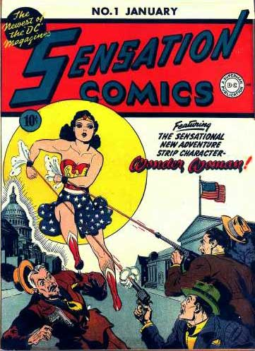 Sensation Comics no. 1, art by H. G. Peter