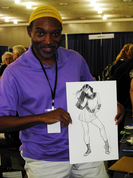 Brian Stelfreeze and Isis, Big Wow ComicFest 2014