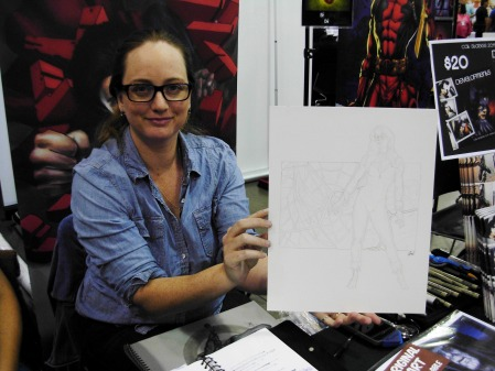 Cat Staggs and Black Cat, Big Wow ComicFest 2014