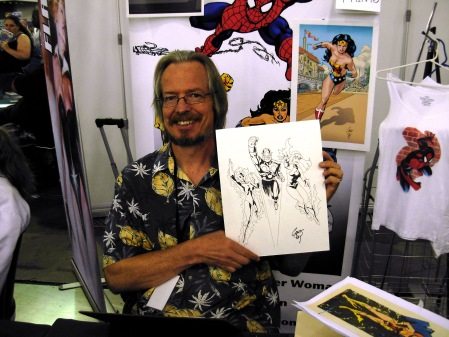 Chris Marrinan and the three Novas, Big Wow ComicFest 2014