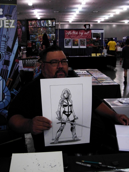Tone Rodriguez and Taarna, Big Wow ComicFest 2014