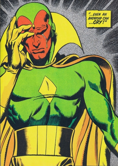 From Avengers #58 (November 1968), art by John Buscema and George Roussos
