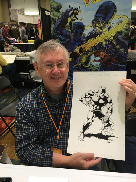 Bob McLeod and his 2004 Black Panther, SFCC 2016