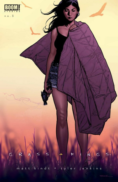 Grass Kings issue 3 variant cover, art by Ryan Sook
