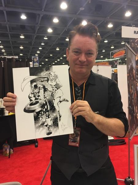 Mike Perkins, San Francisco Comic Con 2017