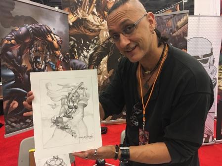 Rags Morales, San Francisco Comic Con 2017